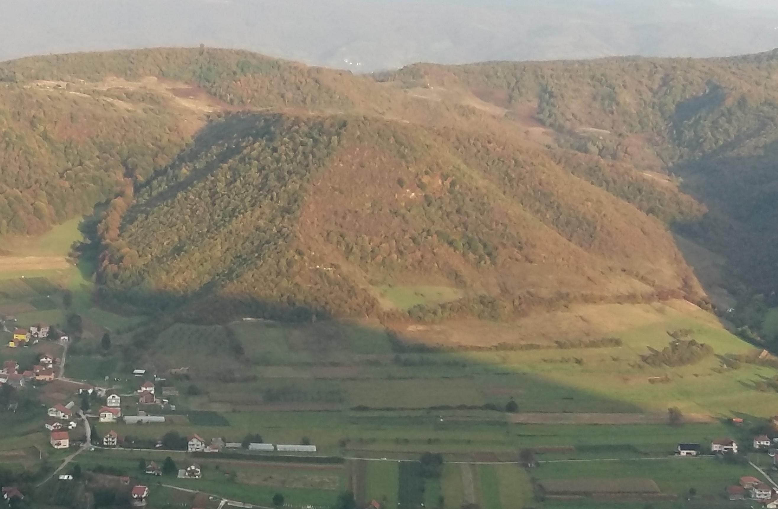 pyramiden in bosnien